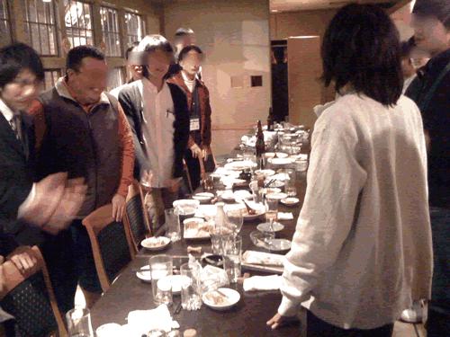 スマートフォン勉強会@関西#12終了後懇親会にて
