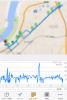 Cyclemeterで自転車ログを計測して眺めてみるのは面白い