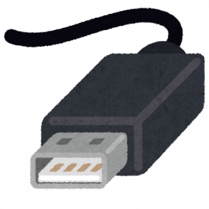 USB Type-A (byいらすとや)