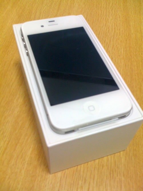 EXPANSYSより届いたiPhone4Sその3