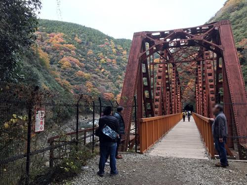 旧JR福知山線廃線区間の生瀬〜武田尾区間の鉄橋
