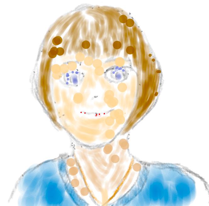 Surface Go + Pixiv Sketchで絵を描いた