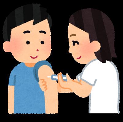 予防接種(いらすとやより)